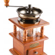 Isolated coffee mill - Stock Photo