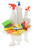 Big composition for cleaning — Stock Photo