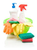 Big composition for cleaner — Stock Photo