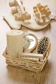 Big set of toilet articles — Stock Photo