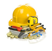 Composition of tools for repairing — Stock Photo