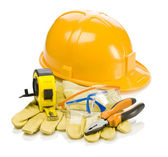 Coposition of working supplies — Stock Photo