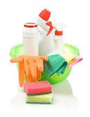чистящие средства в бассейне — Стоковое фото