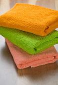 Asciugamani colorati — Foto Stock