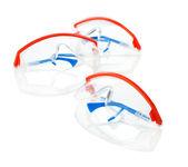 Three safety glasses — Stock Photo