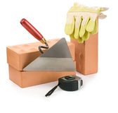 Working tools isolated — Stock Photo