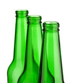 Top of three bottle isolated — Stock Photo