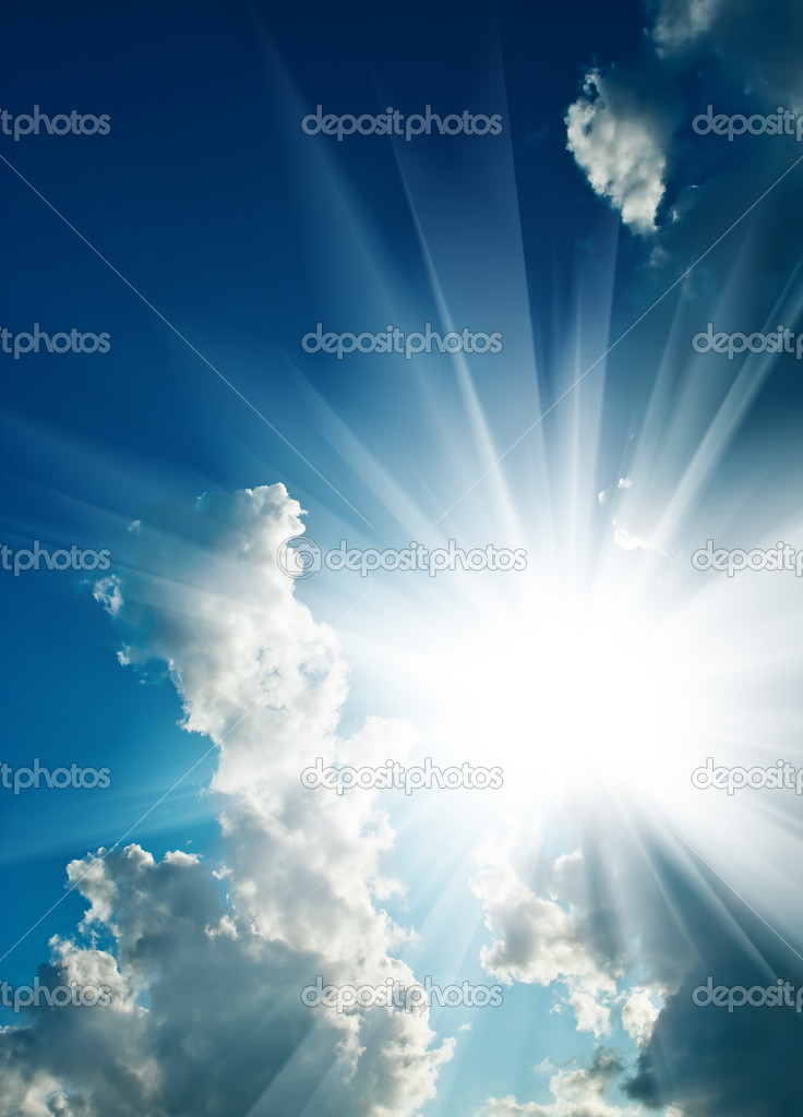 Solar sky  Stock Photo #5080279