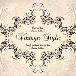 Vintage frame — Stock Vector #4102979