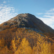 Stock Photo: Large ancient extinct volcano