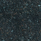 Ground covered with ash and rust - seamless texture — Stock Photo