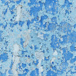 Damaged paint on wall - seamless background — Stock Photo