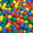 Children's game complex - pool from color balls — Stock Photo