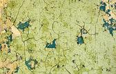 Ošklivé staré popraskané barvy na zeď — Stock fotografie
