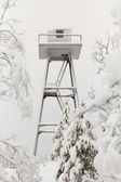 Prison watchtower — Stockfoto