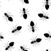 Seamless vector texture - ants pests — Stock Vector