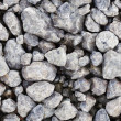 Seamless texture - gray stones — Stock Photo
