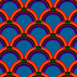 Stock vektor: Seamless abstract pattern