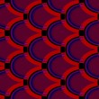 Stock vektor: Vector illustration of a seamless abstract pattern
