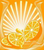 оранжевый фон — Cтоковый вектор