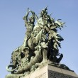 The statue of St. George and the Dragon — Stock Photo #4235429