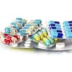 Pils of antibiotic — Stock Photo