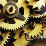 Metal clock mechanism — Stock Photo #5076659