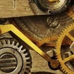 Old clock mechanism — Stock Photo