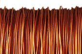 Roll of copper — Stockfoto