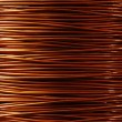 Copper background — Stockfoto