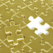 Puzzles background — Stock Photo