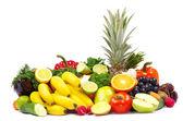 Fruits on white — Stock Photo