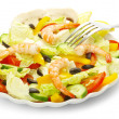 Royalty-Free Stock Photo: Salad in white