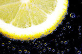 柠檬片 — 图库照片