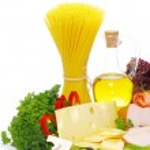 Ingredients for pasta — Stock Photo
