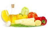 Vegetable on white — Stock Photo