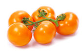 Tomato on a white — Stock Photo