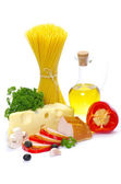 Ingredienti per la pasta — Foto Stock