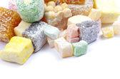 Cukroví na bílém — Stock fotografie