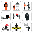 Royalty-Free Stock Vector Image: Set of construction icons