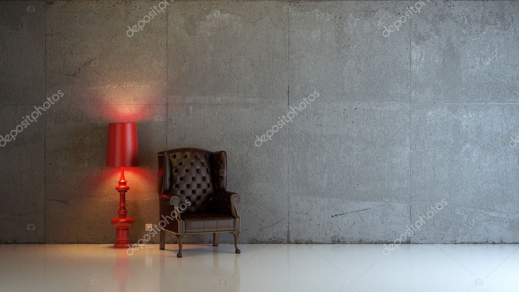 A modern 3d interior composition — Stock Photo #4169544