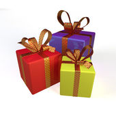 3d gifts — Stock Photo