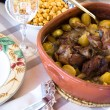 Traditional portugal food — Stock Photo
