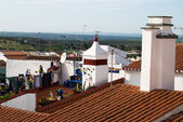 View on roof of Portugal city — Stock Photo
