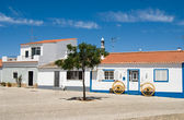The typical house in Algarve, Portugal — Стоковое фото
