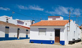 The typical house in Algarve, Portugal — Stockfoto