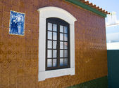 The typical house in Algarve, Portugal — Zdjęcie stockowe