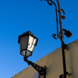 Lantern in steet — Stock Photo
