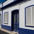 The typical house in Algarve, Portugal - Stock Photo
