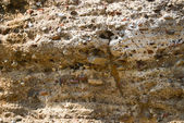 Wall of old castle in Cacela Velha, Portugal — Stock Photo